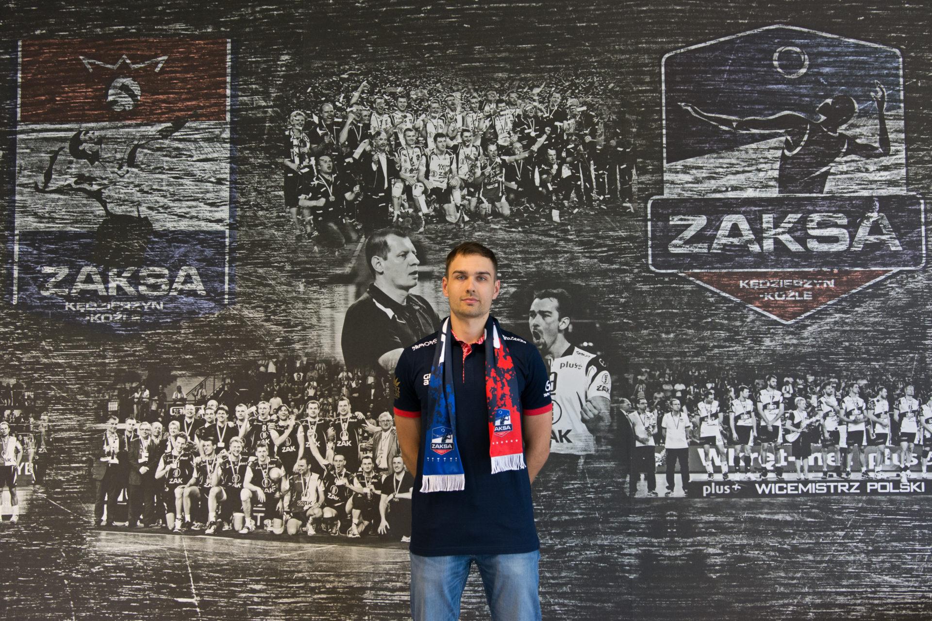 Przemysław Stępień nowym zawodnikiem ZAKSY