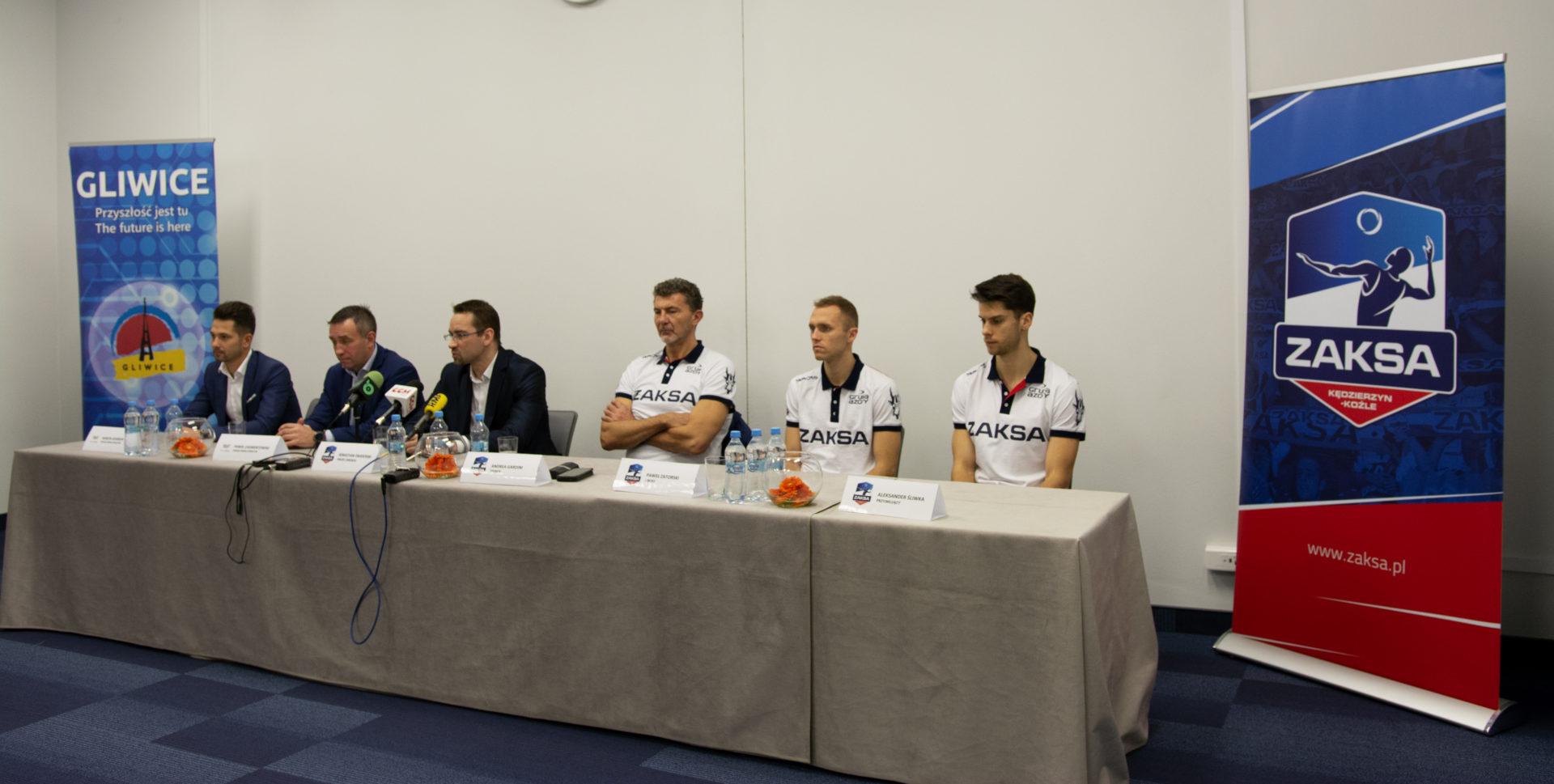 Siatkarska Liga Mistrzów w Arenie Gliwice