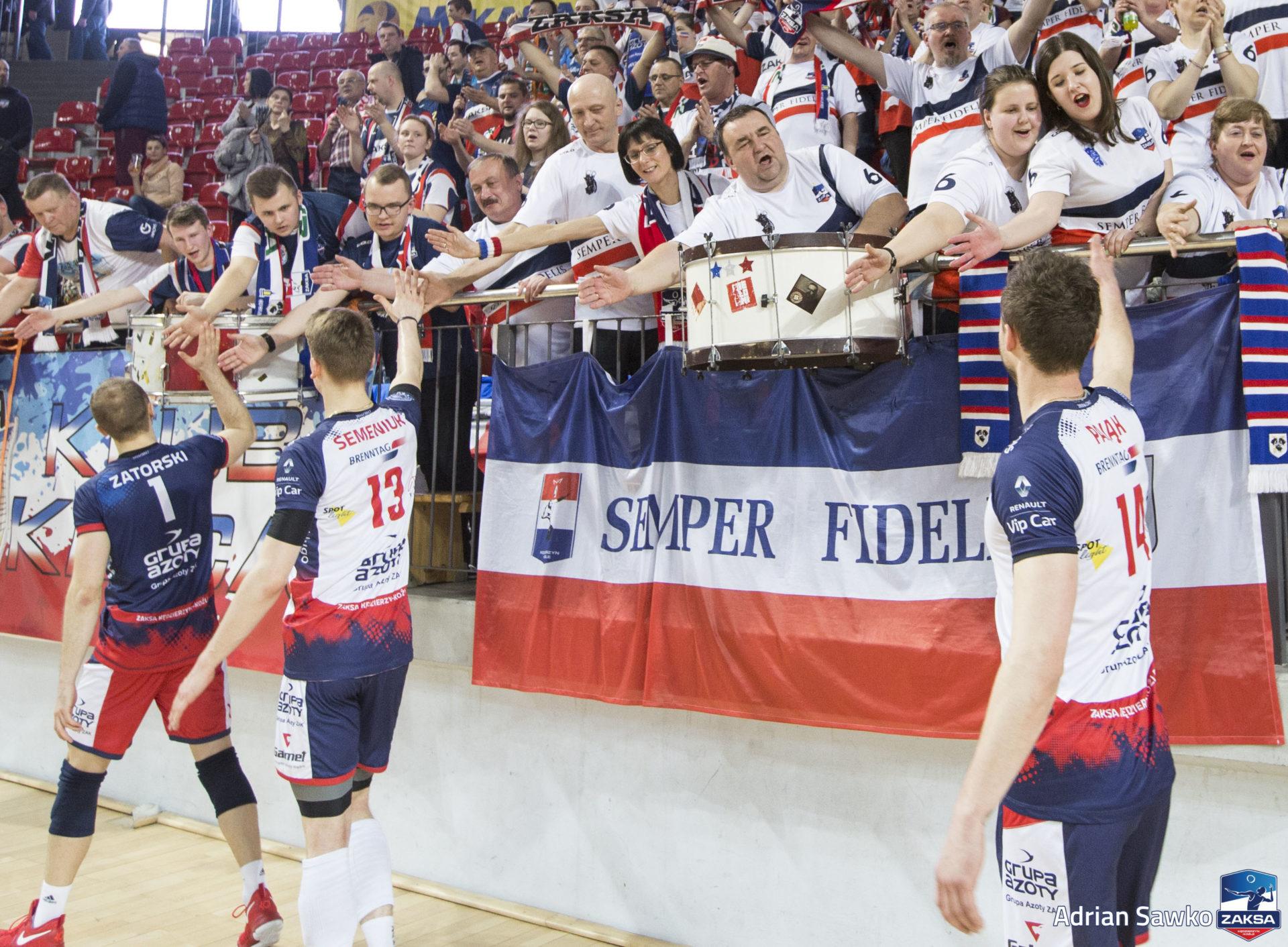 Bilety na mecz półfinałowy ZAKSA Kędzierzyn-Koźle vs Jastrzębski Węgiel