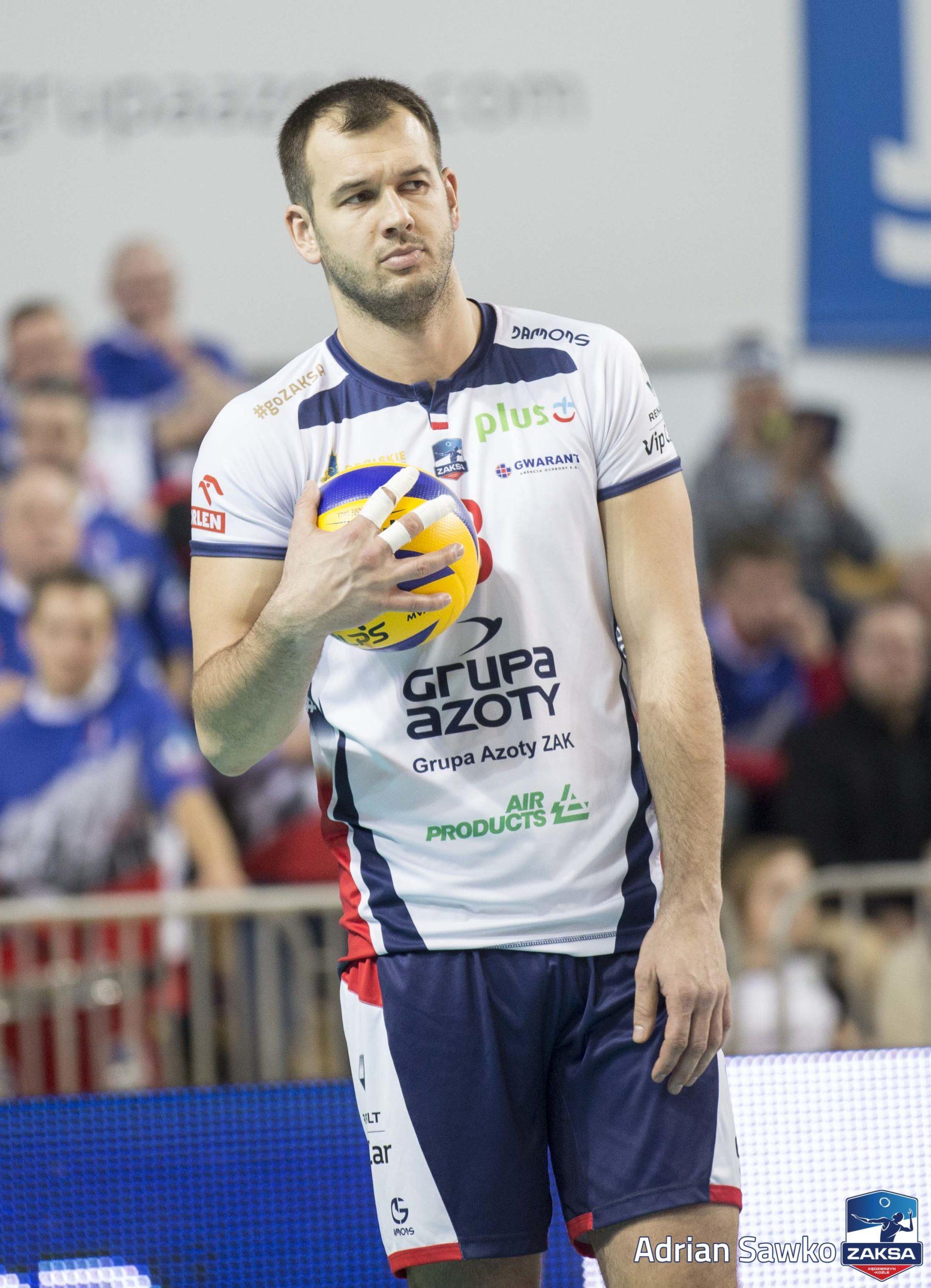 Dominik Witczak po meczu z Espadonem Szczecin