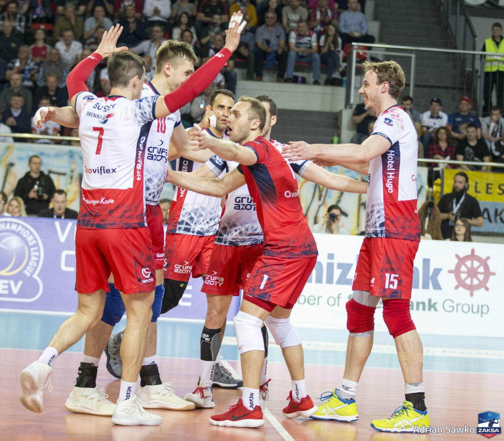 ZAKSA W Final Four Ligi Mistrz U00f3w Grupa Azoty ZAKSA