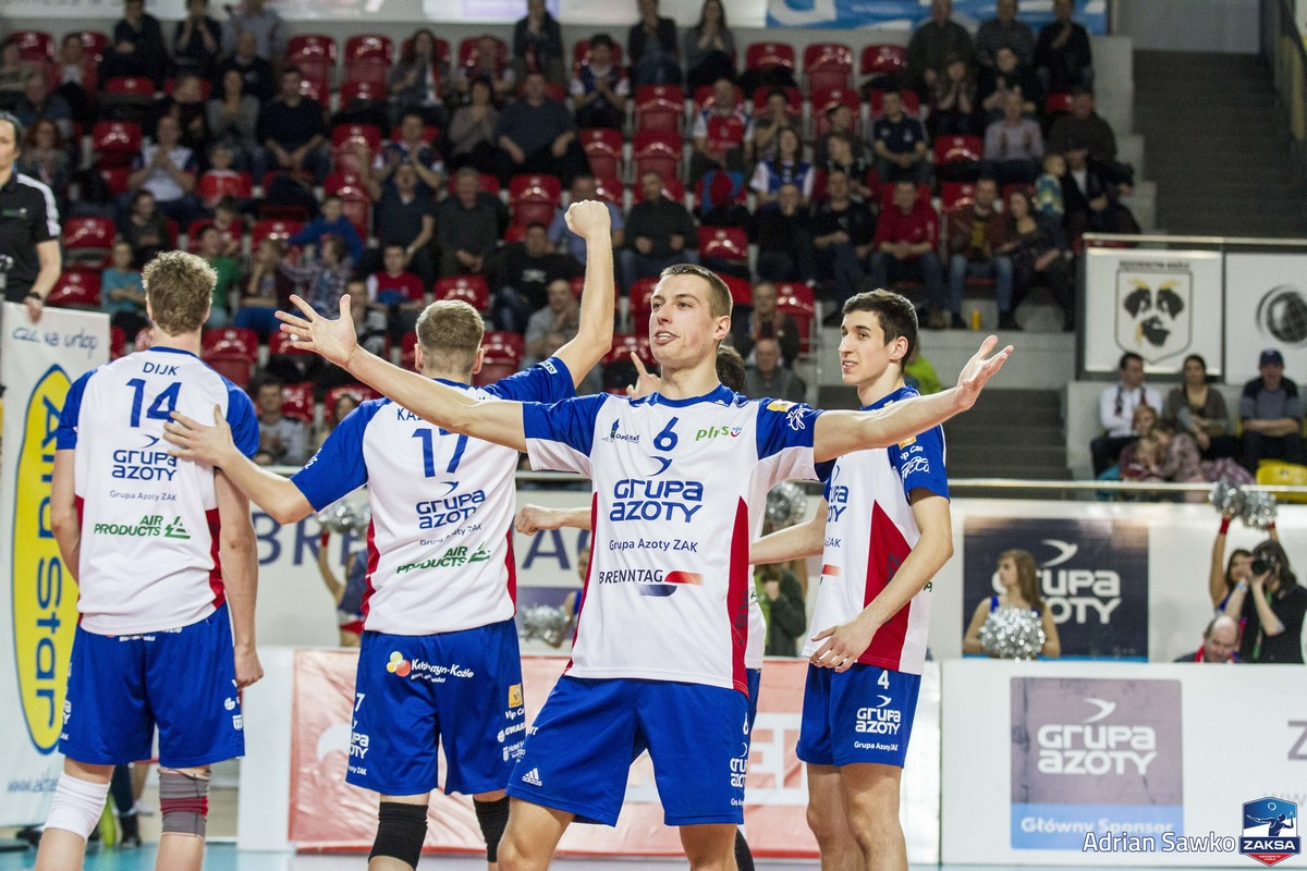Pewne zwycięstwo ZAKSY w Pucharze CEV