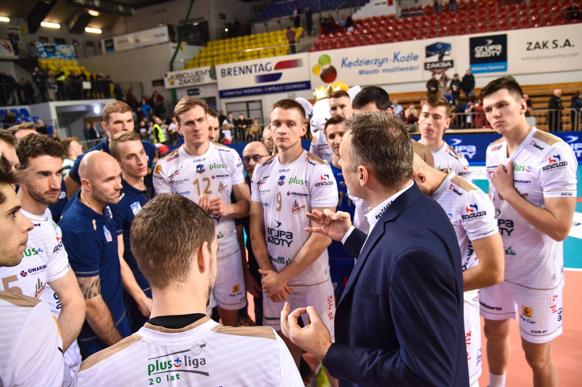 ZAKSA wraca do gry, podejmujemy BKS Visłę Bydgoszcz