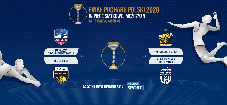 Turniej finałowy Pucharu Polski w katowickim Spodku!