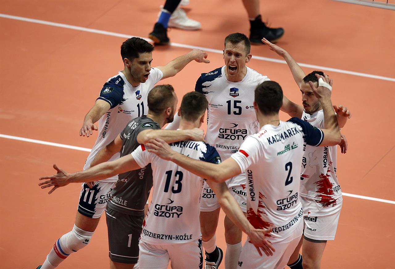 LM: ZAKSA wygrywa w Kazaniu, za nami pierwszy krok