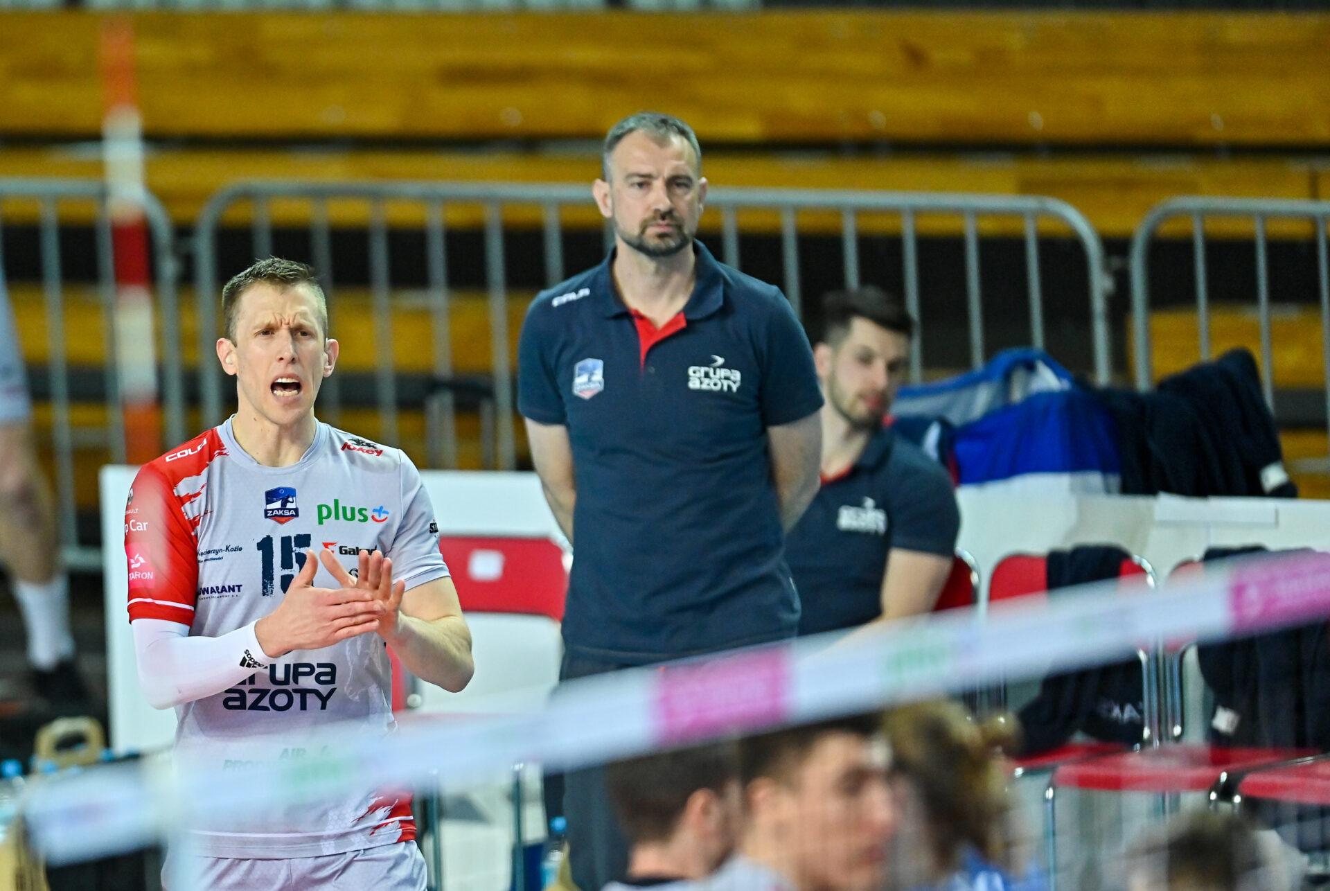 David Smith, Benjamin Toniutti i Nikola Grbić o meczu ze Ślepskiem Suwałki
