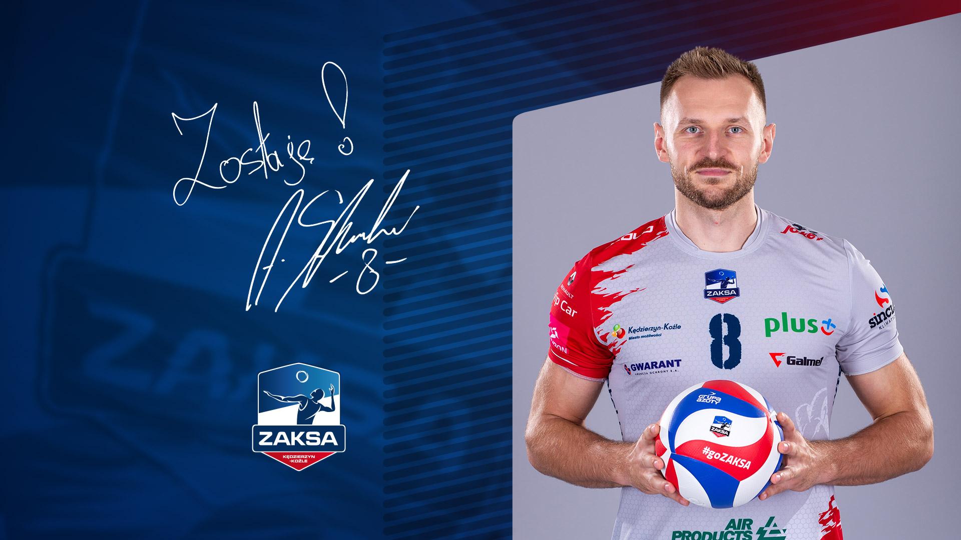 Adrian Staszewski na dłużej w ZAKSIE